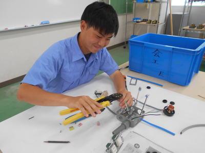 電工技能試験展示品の製作