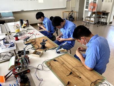 競技用ロボットの製作